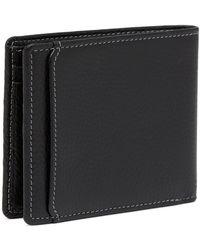 Boconi - Tyler Pebbled Leather Bifold Wallet - Lyst