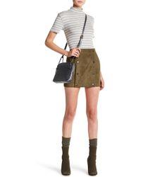 Six Crisp Days - Velvet Military Skirt - Lyst