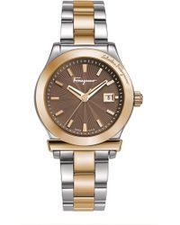 Ferragamo - Women's 1898 Bracelet Watch - Lyst