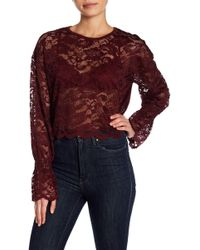 Mustard Seed   Lace Crop Top   Lyst