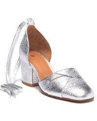 H by Hudson - Nena Leather Block Heel Sandal - Lyst