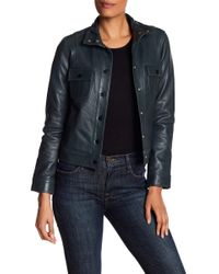 Lucky Brand - District Lamb Leather Jacket - Lyst