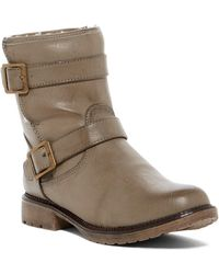 Dirty Laundry - Riot Girl Faux Fur Lined Boot - Lyst