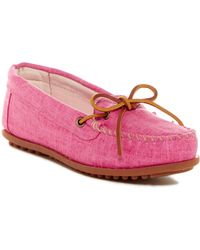 Minnetonka - Canvas Moccasin (women) - Lyst
