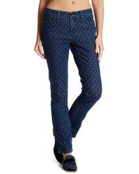 "Lands' End - Pattern Slim Leg Jeans - 26-34"" Inseam - Lyst"