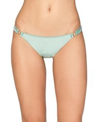 Amuse Society - Mallory Lustrous Bikini Bottoms - Lyst