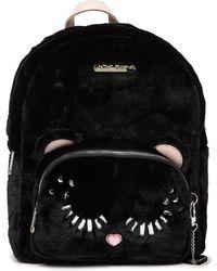 Betsey Johnson - Fuzzy Faux Fur Backpack - Lyst
