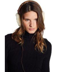 Ugg | Classic Dyed Genuine Shearling Leather Headphone Earmuffs | Lyst