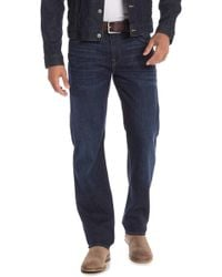 7 For All Mankind - Standard Slim Straight Leg Jeans - Lyst
