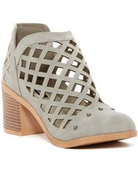 Michael Antonio - Stacey Caged Ankle Boot - Lyst