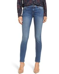Kut From The Kloth - Mia Toothpick Skinny Jeans (regular & Petite) (forgiveness) - Lyst