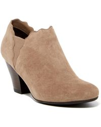 Vaneli - Jedi Scalloped Block Heel Bootie - Wide Width Available - Lyst