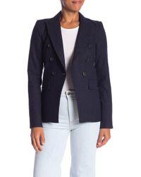 Veronica Beard - Pinstripe Blazer Jacket - Lyst