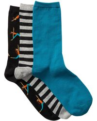 Hot Sox - Yoga - Pack Of 3 - Lyst
