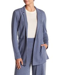 BCBGeneration - Striped Open Front Jacket - Lyst