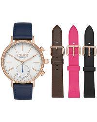 Chaps - Whitney Interchangeable Hybrid Smart Strap Watch, 40mm - Lyst