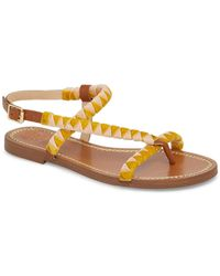 8a118b552b8 Lyst - Vince Camuto Manelle Thong Sandal in Brown
