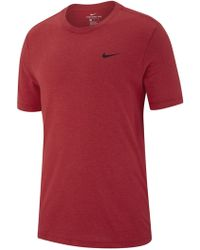 b86cc50c Nike Dry Dfc Block Graphic Tee in Red for Men - Lyst