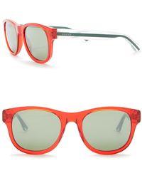 0c78d01568 Lyst - Gucci Men s Square Sunglasses in Black for Men
