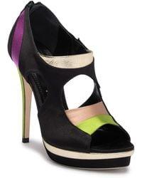 Jerome C. Rousseau - Simkes Multicolor Silk High Heel Shoe - Lyst
