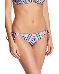 Lucky Brand - Venice Side Tie Bikini Bottoms - Lyst
