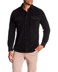 Quiksilver - River Wild Fleece Regular Fit Shirt - Lyst