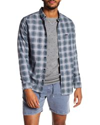 RVCA - That'll Do Hombre Plaid Slim Fit Shirt - Lyst