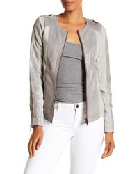 Liebeskind Berlin - Fitted Leather Jacket - Lyst