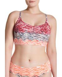 Becca - Cosmic Print Bikini Top (plus Size) - Lyst