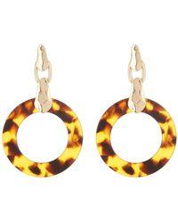 Shashi - Megan Lucite Drop Earrings - Lyst
