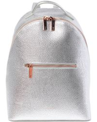 6c479a18684a9 Lyst - Ted Baker Jarvis Mini Grain Leather Backpack in Pink
