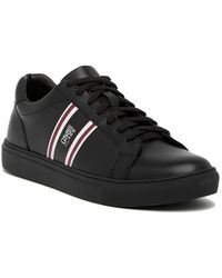 Roberto Cavalli - Low Top Lace-up Leather Sneaker - Lyst