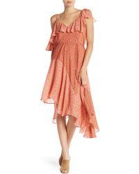 Joie - Hacinthia Asymmetric Silk Dress - Lyst
