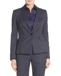 BOSS - Jifabio Stripe Stretch Wool Suit Jacket - Lyst