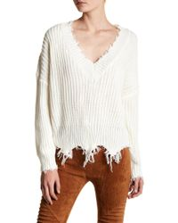 Oober Swank - Distressed Sweater - Lyst