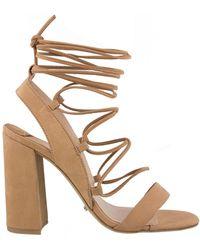 Tony Bianco - Dani Block Heel Strappy Sandals - Lyst