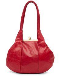 Hobo | Blanche Leather Shoulder Bag | Lyst