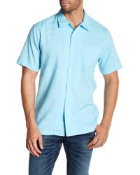 Tommy Bahama - Monaco Tides Short Sleeve Classic Fit Shirt - Lyst
