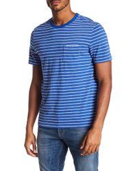 Jack Spade - Stripe Pocket T-shirt - Lyst