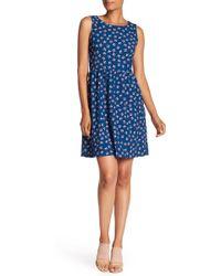 Joe Fresh - Printed Sleeveless Dress - Lyst
