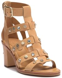 UGG - Macayla Studded Bling Block Heel Sandal - Lyst