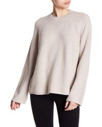 Vince - Raglan Sleeve Knit Sweater - Lyst