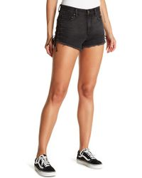 Billabong - Tide Out Side Lace-up Denim Shorts - Lyst