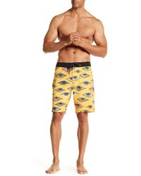 Volcom - Burch Stoney 19 Board Shorts - Lyst