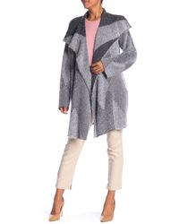 St. John - Blanket Knit Shawl Collar Cardigan - Lyst