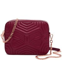 Ted Baker - Sunshine Quilted Leather Camera Bag - Lyst