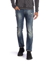 John Varvatos - Bowery Distressed Jeans - Lyst