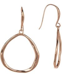 Robert Lee Morris - Textured Drop Earrings - Lyst