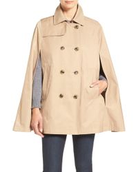 Cece by Cynthia Steffe - Lily Trench Cape - Lyst