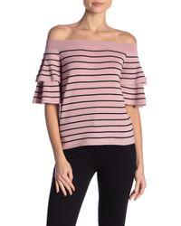 BB Dakota - P.y.t Striped Sweater - Lyst
